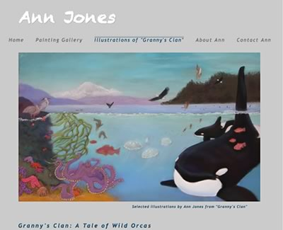 Homepage of Jan Titus and OrcasLavenderdotcom