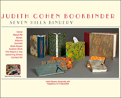 Homepage of Judith Cohen